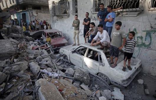 bombed-complex-gaza